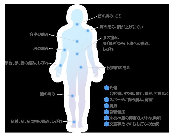 治療内容の図